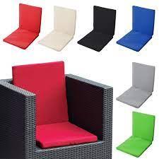 waterproof high back chair cushion