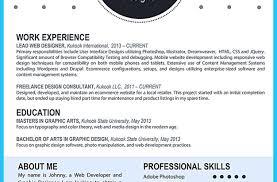 Resume Custom And Unique Artistic Resume Templates For Creative