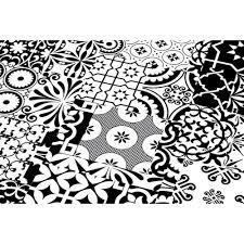 Lovely ... Falquon Flooring Quadraic Black U0026 White Laminate Flooring (Q002)
