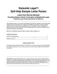 Sample Letter To Landlord To Terminate Lease Early Early Termination Letter From Landlord To Tenant Fill Online