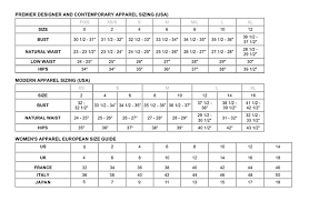 Vince Camuto Dress Size Chart Size Guide