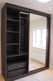 fitted attics wardrobe with mirror sliding doors fitted