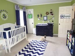Nautical Bedroom Curtains Green And Navy Nautical Nursery Boys Nursery Curtains And