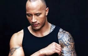 обои фон актер мужчина татуировки дуэйн джонсон картинки на