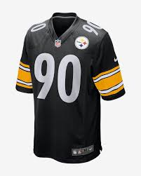 Nfl Pittsburgh Steelers T J Watt Mens Game Football Jersey