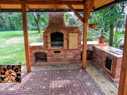 Building A Fireplace Diy Building Outdoor Fireplace With Smoker And Grill Bbq Youtube
