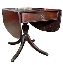 Drop Leaf Dining Table Mahogany Drop Leaf Dining Table By Maddox Ebth