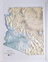 arizona maps from omnimap map store; hiking maps, travel maps Map Northeastern Arizona arizona raised relief maps map northeast arizona