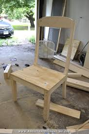 diy wingback dining chair how to build a frame for an upholstered chair 12
