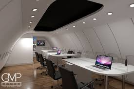 open plan office design birmingham. A CGI Of GMP Design Plans To Open An Office In Boeing 737 Airliner Plan Birmingham