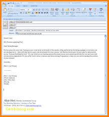 Body Of The Letter For Sending Resume Stunning Email Body For Sending Resume
