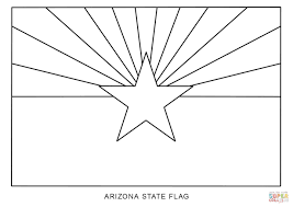 Small Picture Flag of Arizona coloring page Free Printable Coloring Pages