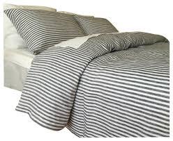 navy and white striped duvet cover set handmade cal king farmhouse duvet