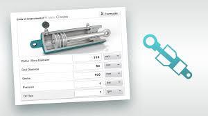 Hydraulic Cylinder Pressure Chart Hydraulic System Calculator Online Trelleborg