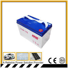 deep cycle storage battery factory
