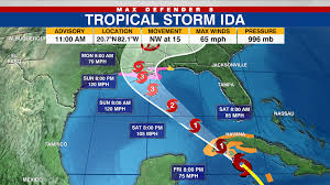 Tropical storm ida formed in the gulf of mexico thursday and is expected to reach major hurricane strength over the weekend. Qze1r3lmlfezrm