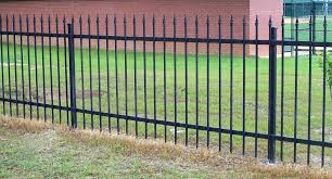 Lowes Wrought Iron Fence Wrought Iron Fence Lowes Black Rod Iron