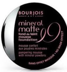Amazon Com Bourjois Mineral Matte Mousse Foundation 87
