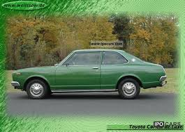 toyota carina de luxe very rare 2 door 1976 vine clic and