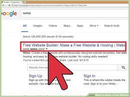 how to make a free how to make a free website 14 steps with pictures wikihow