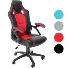 office bucket chair. Office Gaming Chair Racing Executive Computer Desk PC Bucket Seat Swivel Sports