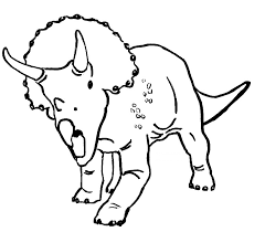 Small Picture Triceratops Coloring Page Coloring Home