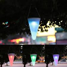 solar led light hanging lights color changing taper balcony garden outdoor chandelier decorative lights for by mrmore dhgate com