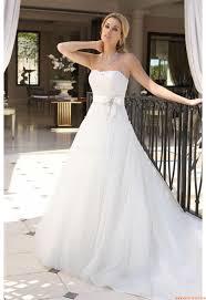 Herz-neck Schlichte Brautkleider für Schwangere