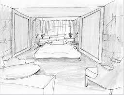 Mondrian Soho Opens Interior sketch Room interior and Sketches