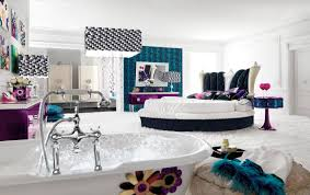 Awesome Ideas In Interior Decoration For Teenage Bedroom : Wonderful Design  In Teen Room Using Blue ...