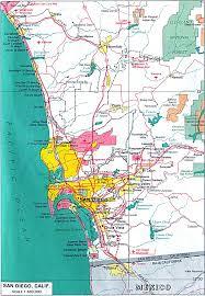 san diego city map  san diego • mappery