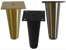 metal furniture legs feet large black