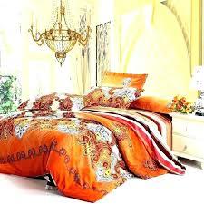 fantastic orange and grey bedding orange and grey bedding set burnt orange bedding sets orange and