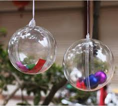 Clear Plastic Round Ball Wedding Candy Box Xmas Tree Ornament Decorations  Gift Hang Ball Supplies 6 Sizes To Choose Wooden Christmas Ornaments Xmas  Decor ...