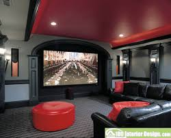 living room decor black and red