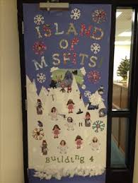 christmas door decorations for office. Fine Decorations Island Of Misfits Christmas Door Decoration Contest Throughout Door Decorations For Office N