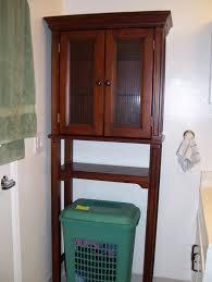 Over The Toilet Bathroom Shelves White Wood Over The Toilet Cabinet Creative Cabinets Decoration