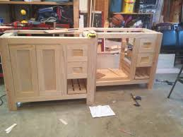Making A Bathroom Cabinet learn how to build a butcher block ...