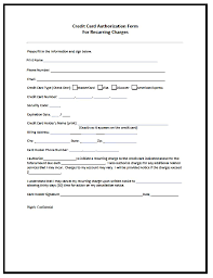 cc auth form credit card authorization form 6 download free documents in pdf