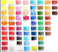 Watercolour Swatches A Few Brands Wetcanvas In 2019