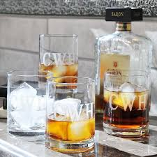 engraved drinking glasses set