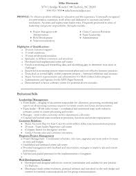 Resume Template For Mba Application