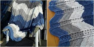 Ripple Afghan Pattern Free Amazing Shell Stitch Ripple Afghan Free Crochet Pattern Styles Idea