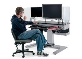 Ergonomic Computer Desk Beautiful Ergonomic Computer Desk With Corner Computer Desks 15