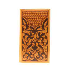 39 00 na 54124 48 rodeo wallet natural leather hand tooled
