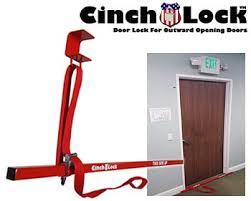 Open classroom door Hallway Cinchlock Cl Under Door Temporary Door Lock The Open Door Classroom Cinchlock Temporary Door Lock For Classrooms And Offices Temporary