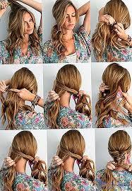 účesy Pro Každodenní Vlasy S Vlastními Rukama Po Dobu 5 Minut