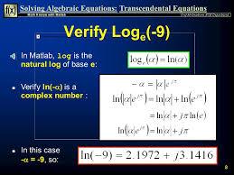8 solving algebraic