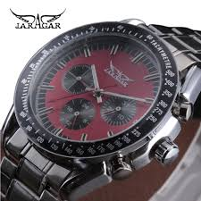 compare prices on self winding watches for men military online man mechanical watch automatic self wind wristwatch stainless steel jaragar sport military watches male clock