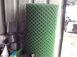 Transparent Chain Link Fence PVC Wire Mesh Manufacturer from Nashik